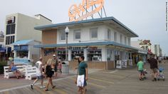 Rehoboth Beach Boardwalk - Delaware - This family friendly boardwalk offers plenty of rides, treats, and laid-back beach charm. From: CNN Travel