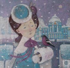 Соловьева Светлана. Зима в Царском Селе