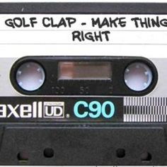 Golf Clap - Make Things Right - October 2013 House Mix - Another great mix by #GolfClap. #house #deephouse