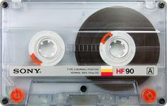 Sony HF 90. Cartucho Compact Cassette