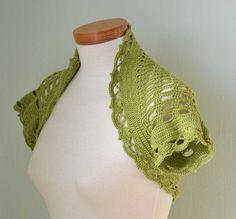 VERA Crochet shrug pattern, PDF. $5.00, via Etsy.
