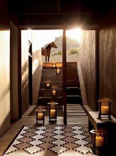 Design You Trust. - Desert Modern from Ralph Lauren Home Southwest Decor, Southwest Style, Ralph Lauren, Lofts, Halls, Real Life, Desert Homes, Boho Home, Le Far West