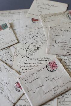 Lettera di Gustav Klimt a Emilie Floge, 18 novembre 1895 Letter Writing, Letter Art, Old Paper, Paper Art, Collage, Franz Josef I, Old Letters, Going Postal, Lost Art