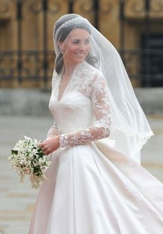 The trend setting bride: http://www.stylemepretty.com/2015/04/28/the-royal-wedding-review/ | Photography: Getty Images