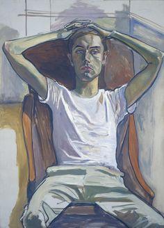 Hartley, 1966. Alice Neel (Colwyn, Pennsylvania, 28 de enero de 1900 – 13 de octubre de 1984) fue una pintora retratista estadounidense. Sus pinturas destacan por su uso expresionista de la línea y del color, profundidad psicológica e intensidad emocional.