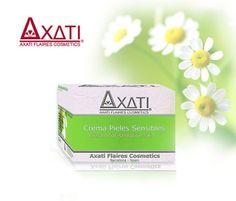 Las pieles sensibles por fin tienen lo que necesitan… Axati Pieles Sensibles. Cosmética natural de alta calidad por sólo $12.50€
