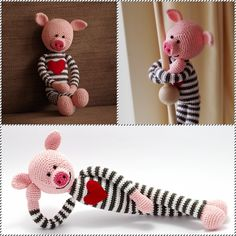 lovely crochet piggy