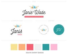 Hey, I found this really awesome Etsy listing at https://www.etsy.com/in-en/listing/556110165/premade-branding-kit-premade-logo