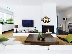 Ah - peaceful and simple living room Minimalism Interior, Interior, Bedroom Interior, Modern Interior Design, Simple Living Room, Home Interior Design, Interior Design, Modern Interior, Cozy Living Rooms