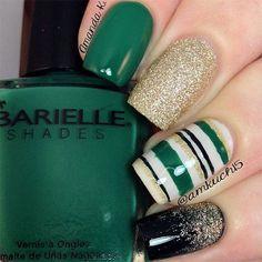 St. Patrick's Day Nail Art Designs