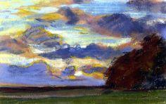 Sunset Claude Oscar Monet