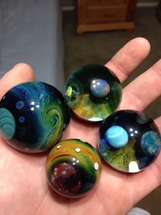 Space Marbles. I WANT THIS