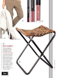 DIY: inspiration // woven seat /// denim