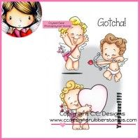 C.C. Designs Clear Stamp - Roberto's Rascals Cupids