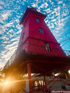 Morgan City, Louisiana, Lighthouse, Cabin, Park, House Styles, Home Decor, Bell Rock Lighthouse, Light House