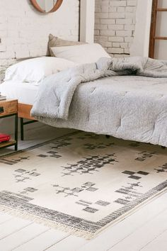 Accra Placement Printed Woven Rug