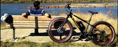 Electric bike, meet fat bike: The Biktrix Juggernaut electric fat bike