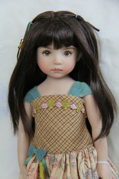 "13"" Little Darling 'THE Original Isabelle Brown' Painted BY Dianna Effner 