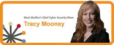 McAfee's landing page for the Cybersecurity mom campaign mom campaign, cybersecur mom