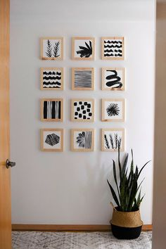 DIY Wood Block Art
