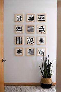 Diy Crafts For Home Decor, Upcycled Home Decor, Diy Room Decor, Diy Wall Decorations, Diy Apartment Decor, Handmade Home Decor, Diy Home Décor, Diy Projects Apartment, Diy Crafts For Bedroom