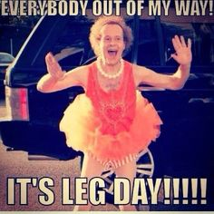 Its LEG DAY and I am literally still sore from Thursdays shoulders and back work. - Its LEG DAY and I am literally still sore from Thursdays shoulders and back workout. This week I ma - Sport Motivation, Fitness Motivation Quotes, Workout Motivation, Daily Motivation, Gym Humour, Workout Humor, Workout Quotes, Leg Day Humor, Exercise Quotes