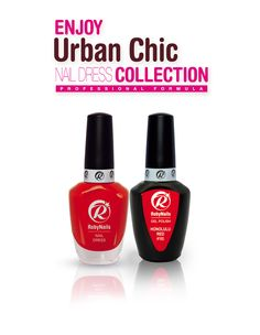RobyNails Nail Dress Honolulu Red