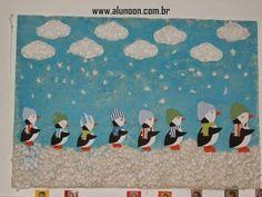 24 Ideias de Mural para Inverno - Educação Infantil - Aluno On Winter Activities, Kids Rugs, Winter Ideas, Students Day, Winter, Infant Crafts, Christmas Decor, Initials, Murals
