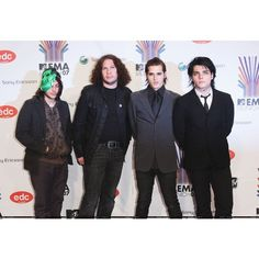 MCR PICS - EMA's 07 - HQ/77647451 ❤ liked on Polyvore featuring my chemical romance and mcr