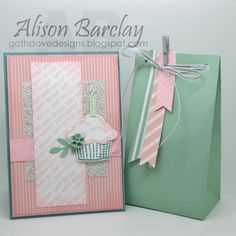 Gothdove Designs - Alison Barclay - Stampin' Up! Australia - Stampin' Up! Gift Bag Punch Board