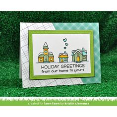 RESERVE Lawn Fawn SET LF17SETWV WINTER VILLAGE Clear Stamps and Dies Preview Image