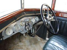 Hispano Suiza T49 Limusina por J. Forcada - Tablero de instrumentos       MANUEL GLEZ