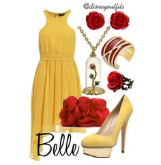 Belle from Beauty and the Beast...Outfit created by ME!