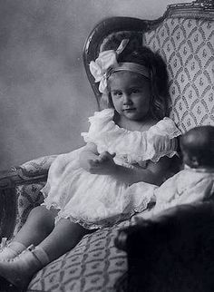 Her Royal Highness Princess Cecilie of Prussia (1917–1975) kathe kruse doll