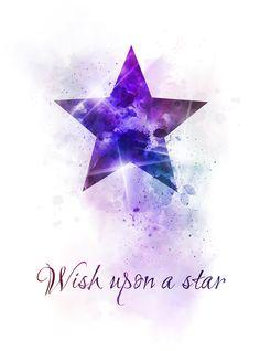 Wish upon a star Quote ART PRINT, Nursery, Gift, Inspirational, Wall Art, Home Decor, disney, Quotes, gift ideas, birthday, christmas, star #Wishuponastar #Quote #ARTPRINT #Nursery #Gift #Inspirational #WallArt #HomeDecor #disney #Quotes #giftideas #birthday #christmas #star