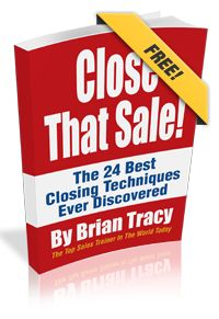 My Book: Close That Sale - By Brian Tracy