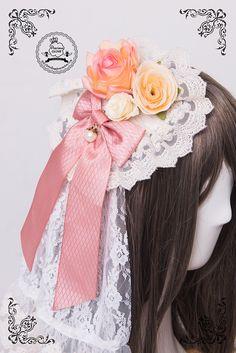 Precious Clove -Romeo and Juliet- Lolita Flower Headbow
