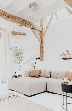 Ideas Home Interior Design Living Room Wood Ceilings Home Office Design, Interior Design Living Room, Living Room Designs, Home Design, Home Living Room, Living Spaces, Trendy Home, Living Room Inspiration, Minimalist Home