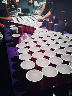 Win pong competitions...wine, beer, or anything