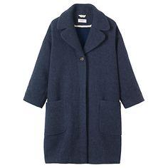 Buy Toast Maki Coat, Navy Online at johnlewis.com