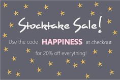 20% OFF ABSOLUTELY EVERYTHING! All of our amazing brands including OYOY Grimm's Kip and Co Yumbox Mister Fly Pax and Hart Pretty in Pine Le Toy Van KEK Amsterdam Emondo Kids Lucky Boy Sunday and more. Afterpay zipPay and free shipping for orders over $150 x  w w w . m i l k t o o t h . c o m . a u