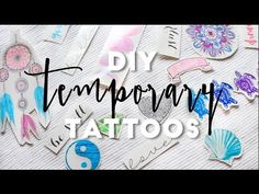 A step-by-step guide to creating your own temporary tattoos from home using an inkjet printer. To order DIY temporary tattoo paper online visit our website a...