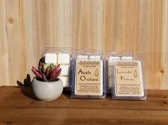 Check out this item in my Etsy shop https://www.etsy.com/listing/278547738/wax-melts-mix-and-match-any-4-scents