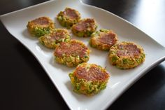 Broccoli Cheese Bites (not sure if this should be anywhere NEAR healthy, but its one way to get a broccalli-hater to eat it! Family Recipes, Family Meals, Broccoli Cheese Bites, Lunches, Entrees, Eat, Vegetables, Healthy, Ethnic Recipes