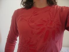 T-Shirt Tutorial: Backstitched Reverse Applique | annie blog