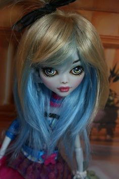 Monster High Lagoona Blue OOAK Repaint Ella | eBay