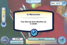 Omg :D this is real?(i had a sim who jumped down into pool from window he was weird)