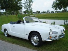 White Karmann Ghia Volkswagen,VW, VW steering wheel, Volkswagen, 1963 cars, 1963…
