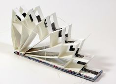 By annwyn dean 2014 accordion book, concertina book, handmade books, art Concertina Book, Accordion Book, Atelier Theme, Libros Pop-up, Paper Magic, Paper Book, Book Folding, Book Journal, Journals