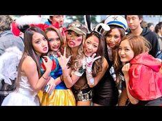 Japan Halloween - Shibuya Costume Street Party ハロウィン